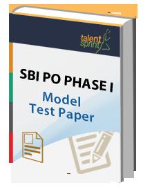 sbi po model question paper online